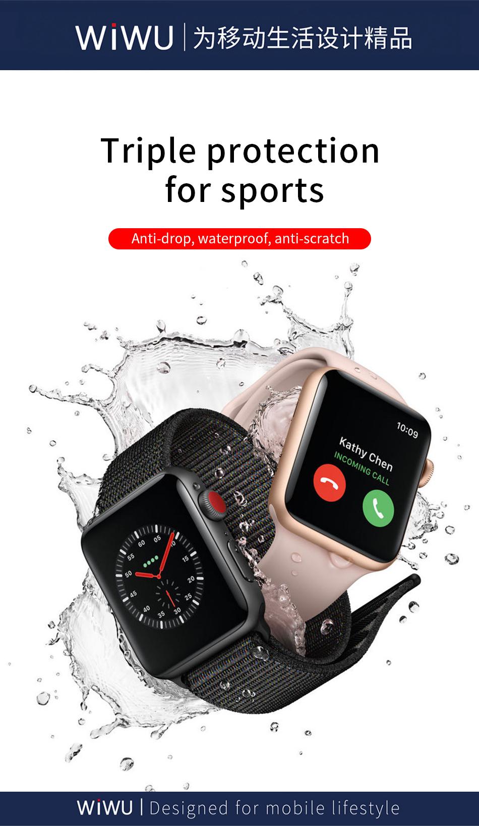WiWU 苹果手表全覆盖钢化膜 (https://www.wiwu.net.cn/) iWatch 壳 膜 第3张