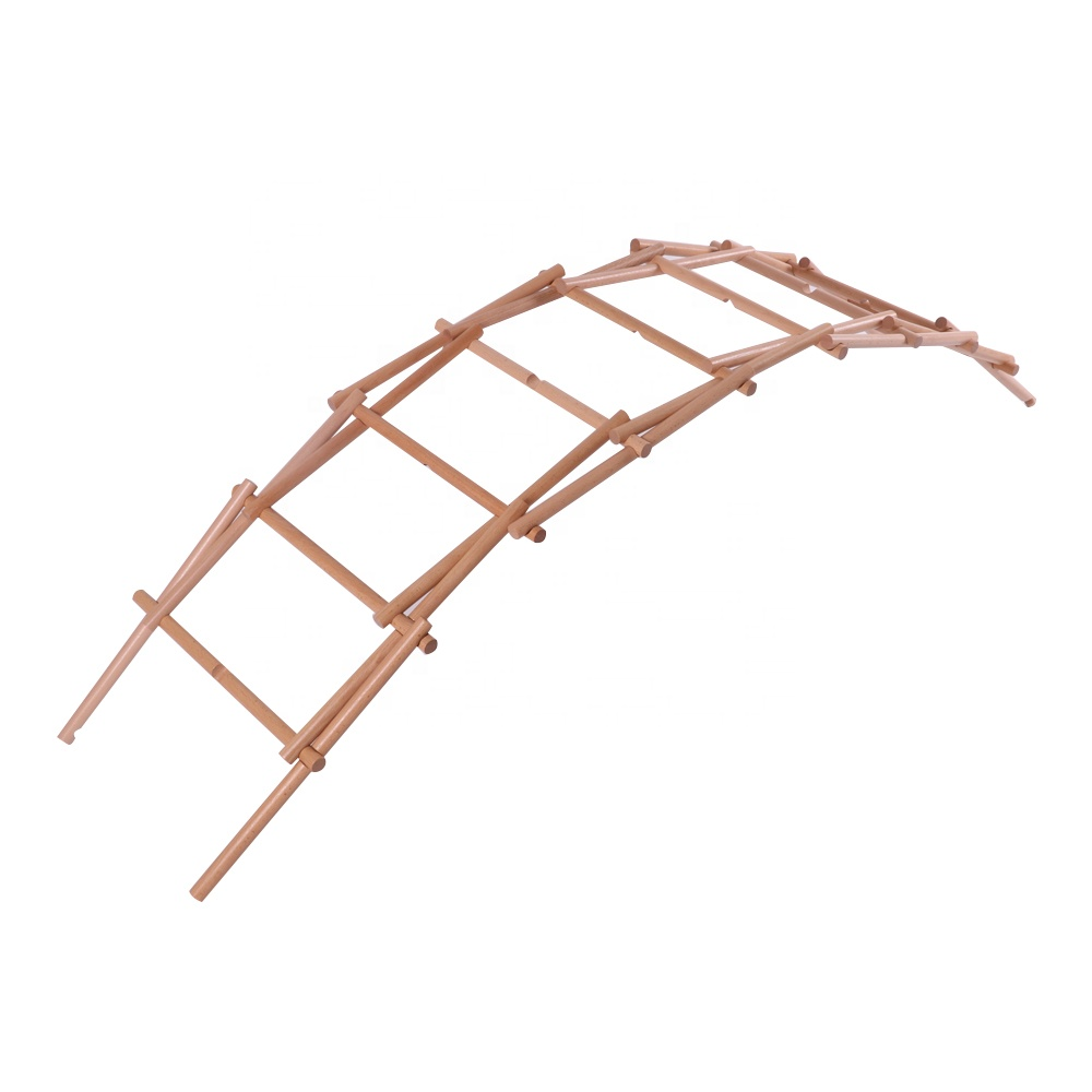 Da Vinci Bridge-Stick type The Bridge that can be made without glue Experiential educational toys