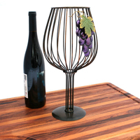 Large And Small Holder Wire Cup Easily Holds Over 50 Corks, Metal Art Wine Cork Storage, Other Home Decor