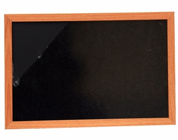 Decorative wooden chalk board with MDF frame