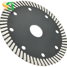 9 pollici Nero Discoteca Diamond Cut Off Wheel Per Tagliare Metalli