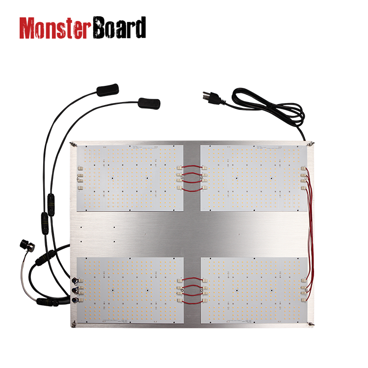 Waterproof wires grow 550 <strong>v2</strong> v4-plus monster board grow / QB samsung lm301h cree 660nm red lg uv cree ir switches led grow light