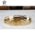 Home/hotel dekor edelstahl oval gold metall dekoration tabletts