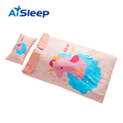 Aisleep new design quilted pattern blanket patch anti kicking baby animal quilt