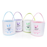 Wholesale High Quality Free Shipping Easter Bunny Tote Bag