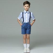 Лето 2020, торжественный Свадебный костюм с цветами для мальчиков, студенческое платье для кампуса, детские костюмы для церемонии джентльмен...(Китай)