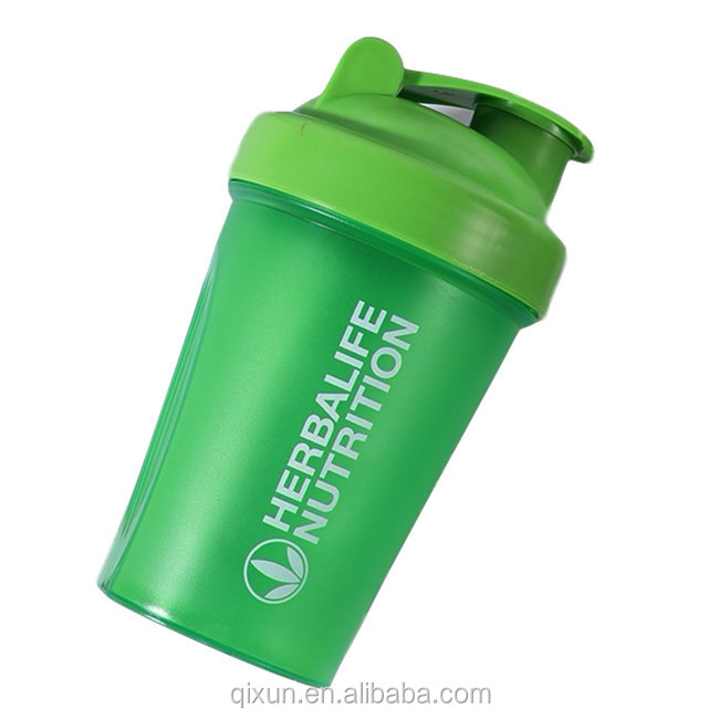 promotional custom logo plastic sport water bottle