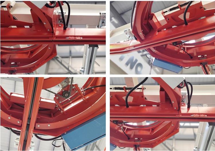 KBK model Turntables Cross type track Ergonomic Crane system for sale