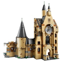 Hot sale 10001 Harry model 900PCS Potter Hogwarts Castle set Magic Castle Building Blocks Toys