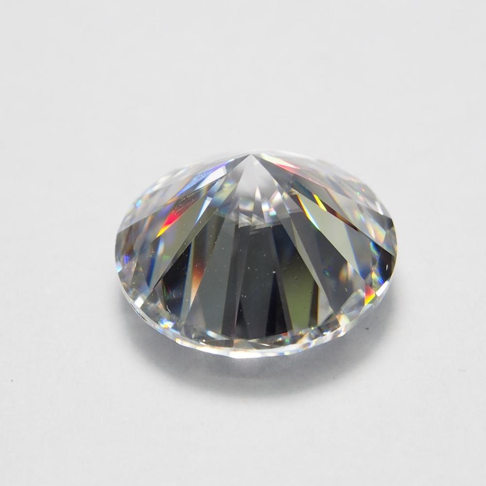 Wholesale Lab grown Moissanite Stone Diamond 6.5mm White moissanite diamond price per carat engagement ring earring jewelry