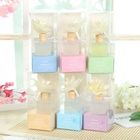Air Freshener Room Diffuser Candle Set in Blue Tube Packaging Box / Reed Diffusers Manufacturer
