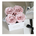 Rose Roses Preserved Roses And Flowers Factory Wholesale Decorative Flowers Eternal Rose Preserved Roses Forever With Box