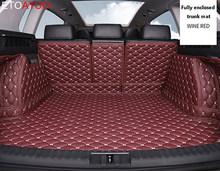 Пользовательские коврик для багажника автомобиля Коврики для багажника для peugeot все модели 3008 206 307 207 2008 408 308 508 301 4008 RCZ 301 sw стильный аксессуа...(Китай)