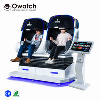 Factory price Best quality Virtual Reality 2 Seats VR 9D Amusement Game 9d cinema simulator with 9d glasses