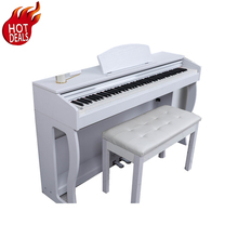 <span class=keywords><strong>Clavier</strong></span> professionnel Hammer Action 88 PVC <span class=keywords><strong>Clavier</strong></span> <span class=keywords><strong>MIDI</strong></span> Électronique Piano Numérique