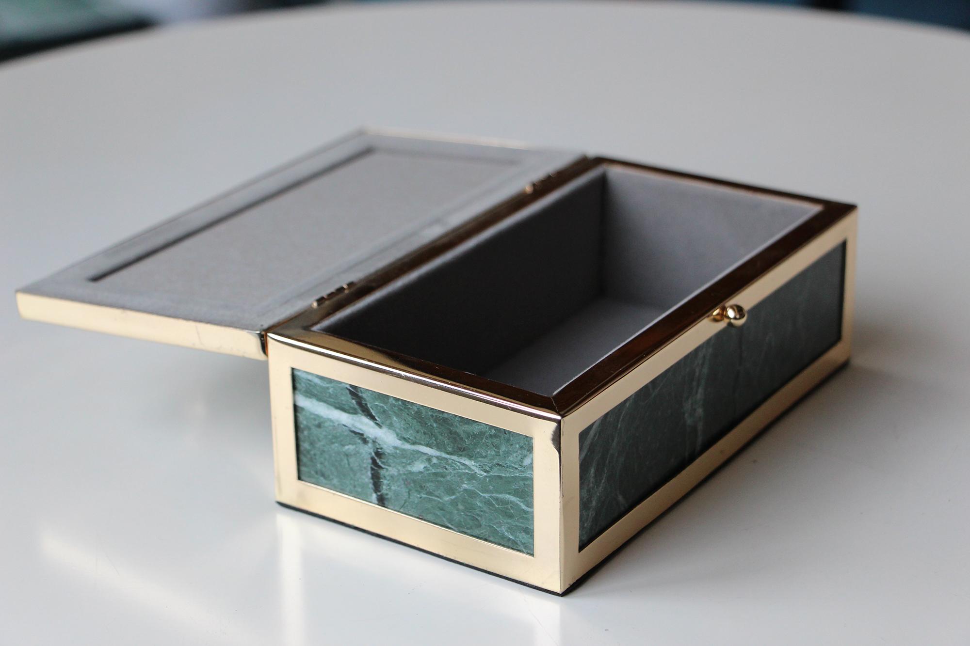 सस्ते कीमत अनुकूलित आभूषण बॉक्स संगमरमर संगमरमर के लिए आयत गहने बॉक्स विस्तार बॉक्स है।