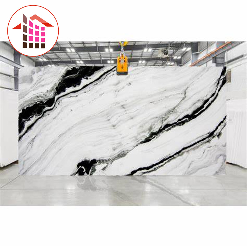 2020 the most popular marble natural panda white marble