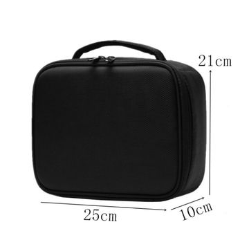 Cosmetic Case Beauty Brush Makeup Bag Travel eyelash extension lash kit tool box