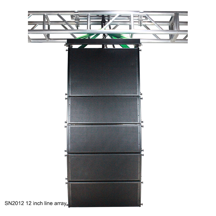 Sinbosen Professional Audio 8/10/12/15 inch Line Array System Speaker Subwoofer Bass for Stage