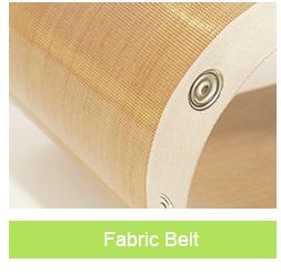 PTFE coated fiberglass mesh conveyor belt for cooking