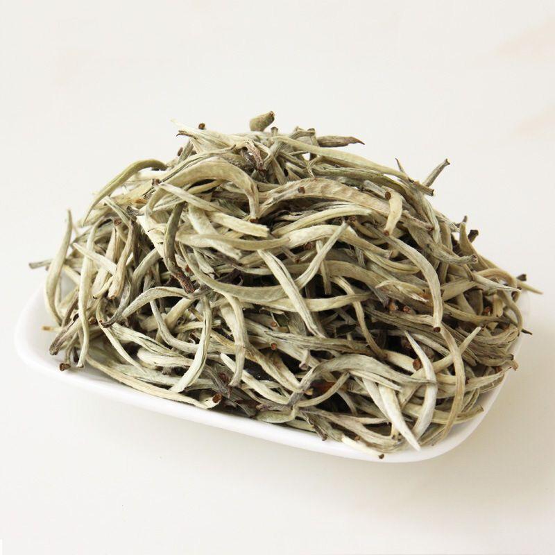 White Silver Needle Tea Baihao Yinzhen White Tea - 4uTea   4uTea.com