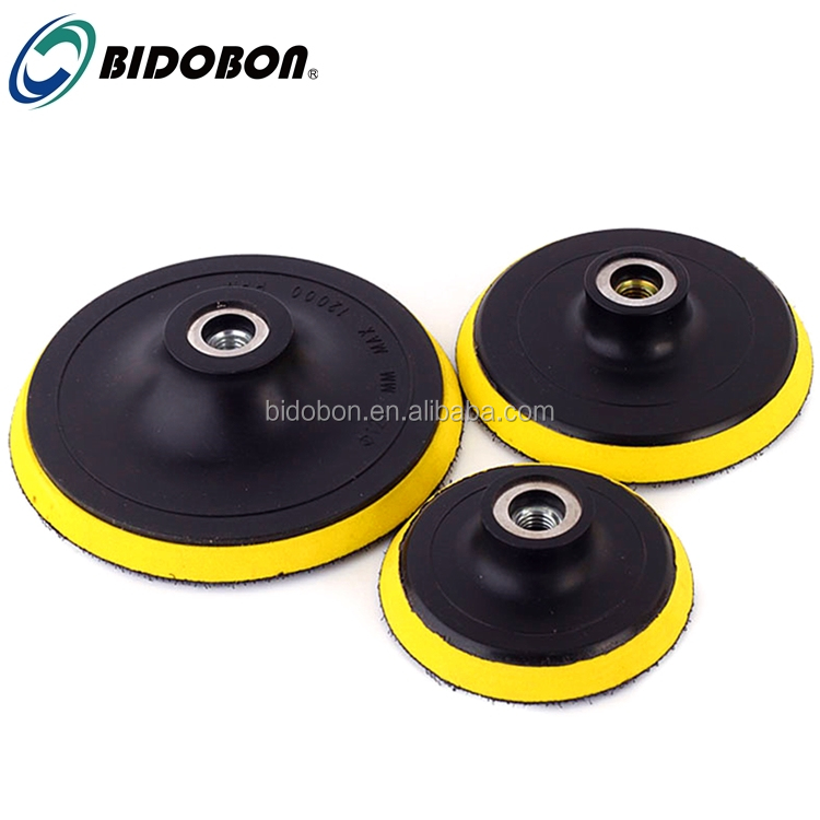 Wholesale 4'' rubber diamond polishing pad backer