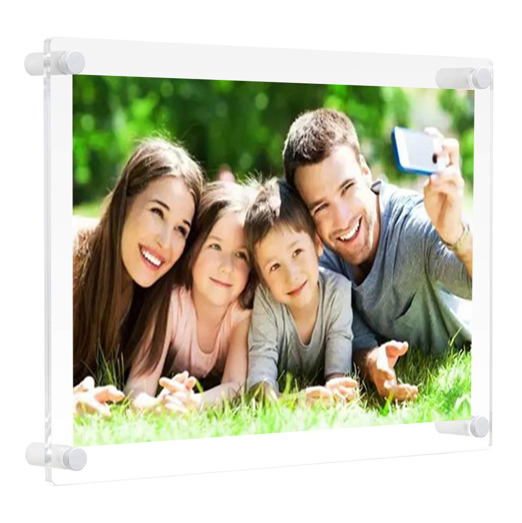 Hot Selling 20X30 24X36 Acrylic Picture Frames Bulk Frameless Picture Frame With Screw