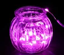 ICOCO яркий 2 м 20 LED SMD3528 серебряная проволока Рождественская Свадебная вечеринка гирлянда Сказочный светильник безопасный без тепла украшени...(Китай)