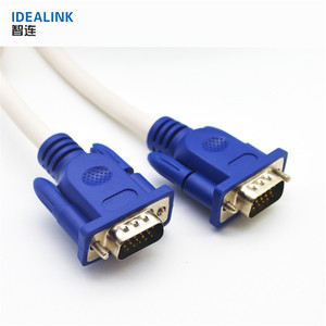 China supplier 1.5m male 15pin flexible vga cable 34, vga cables for desktop