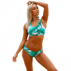 Eco Friendly Two Piece Neck Halter Packaging Bikini Swimwear
