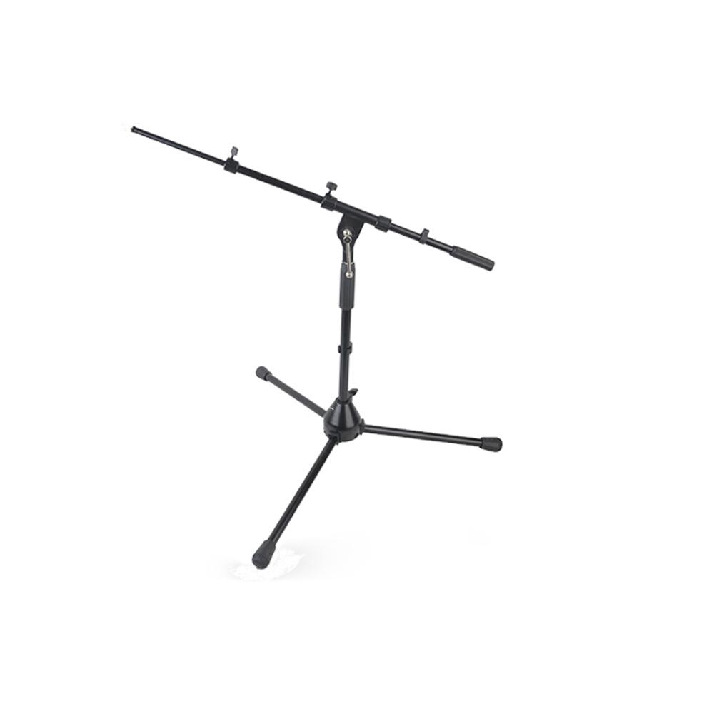 Precisão Stands MS009 Profissional Tripé de Metal Ajustável Mesa Pedestal do microfone
