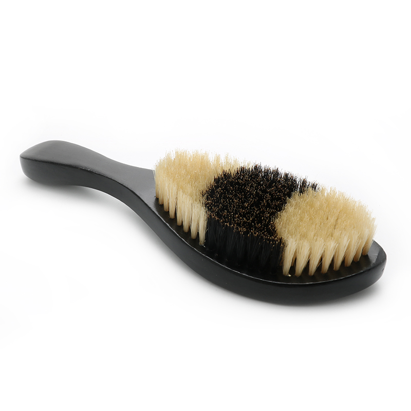 NEW Style Best Quality 2 Tone Bristle Engrave LOGO 360 Wave Boar Bristle Hair Brush