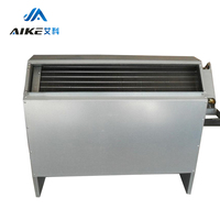 Commercial Air Conditioner Chilled Water Hydronic Vertical Concealed Fan Coil Unit