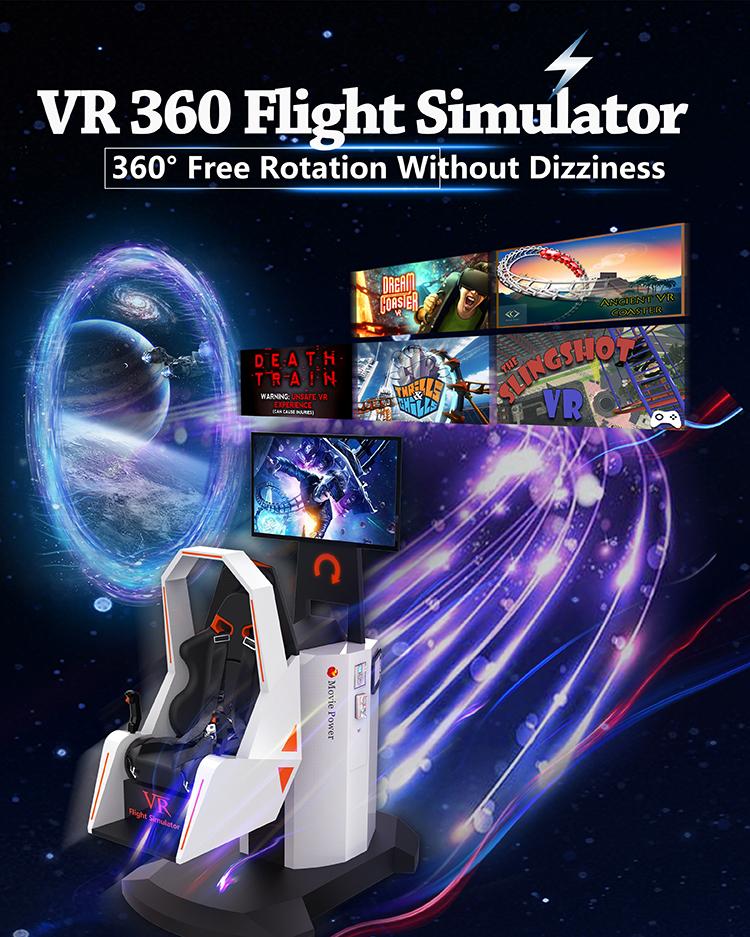 720 derece hassas rotasyon sinek simülatörü 3d 4d 5d 360 uçuş simülatörü