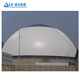 China supply Large Span Steel Structure Space Frame Prefab Storage Shed Dome Storage Building