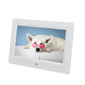 Fast shipping cheap price 7inch LCD digital photo frame for advertising