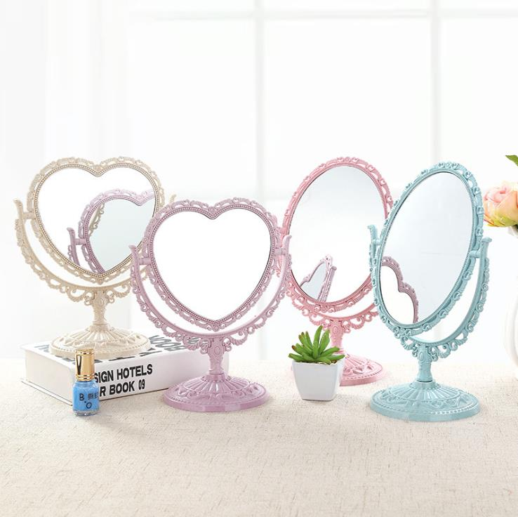Desktop double-sided cosmetic mirror Princess Mirror