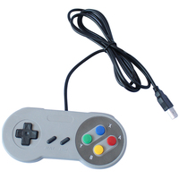 Retro SNES Controller USB Game Controller for Super Nintendo USB SNES Wired Gamepad for Nitendo SNES Classic