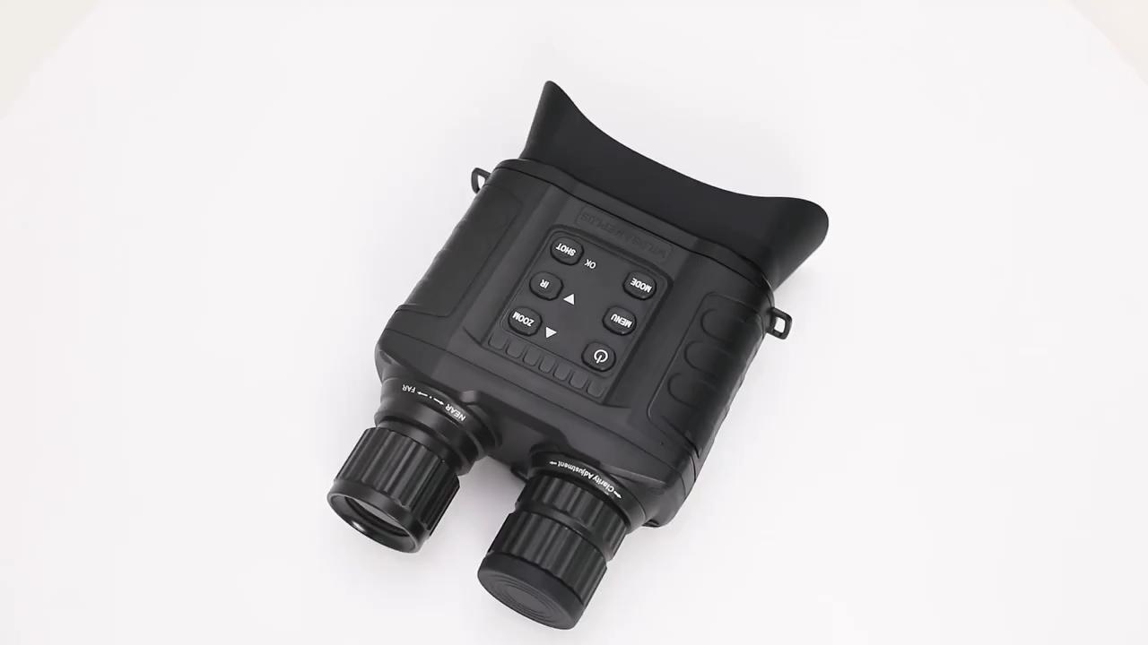 Groothandel Prijs Thermische Verrekijker De Visao Night 850nm Infrarood Telescoop Verrekijker 20X30 Zoom Jacht Nachtzicht Verrekijker