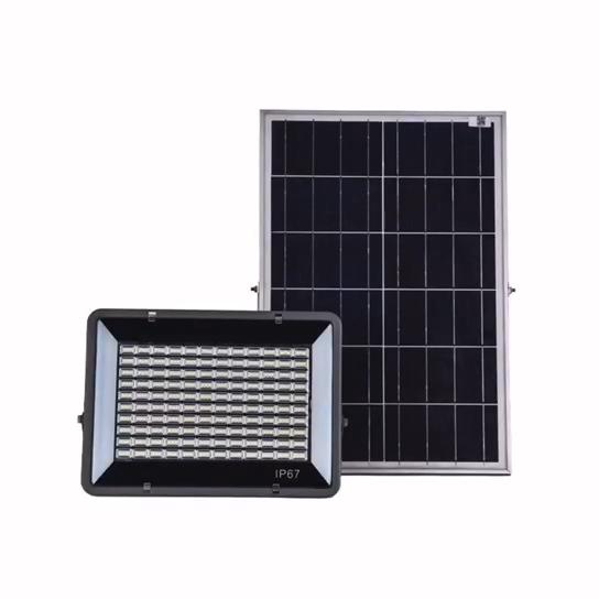 IP65 방수 새벽 보안 태양 투광 조명 창고 야외 장식 조명 태양 led 가로등 야외