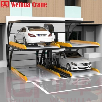WEIHUA CRANE Parking Solutions Lifting Equipment Vertical Two Post Parking System Garage
