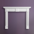 Easy install decorative fireplace gypsum fire surrounds OT-FS-005
