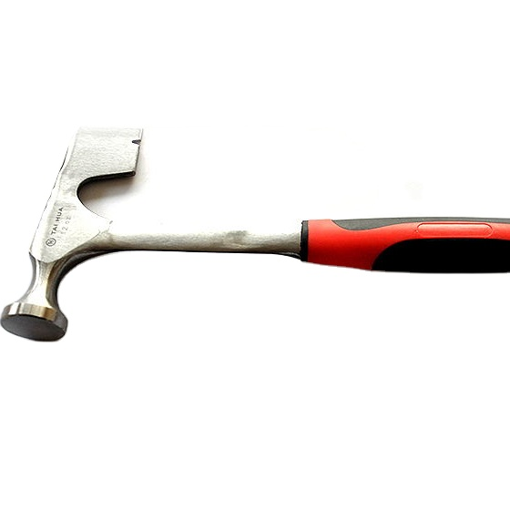 600g roofing hammer with tubular steel grip handle