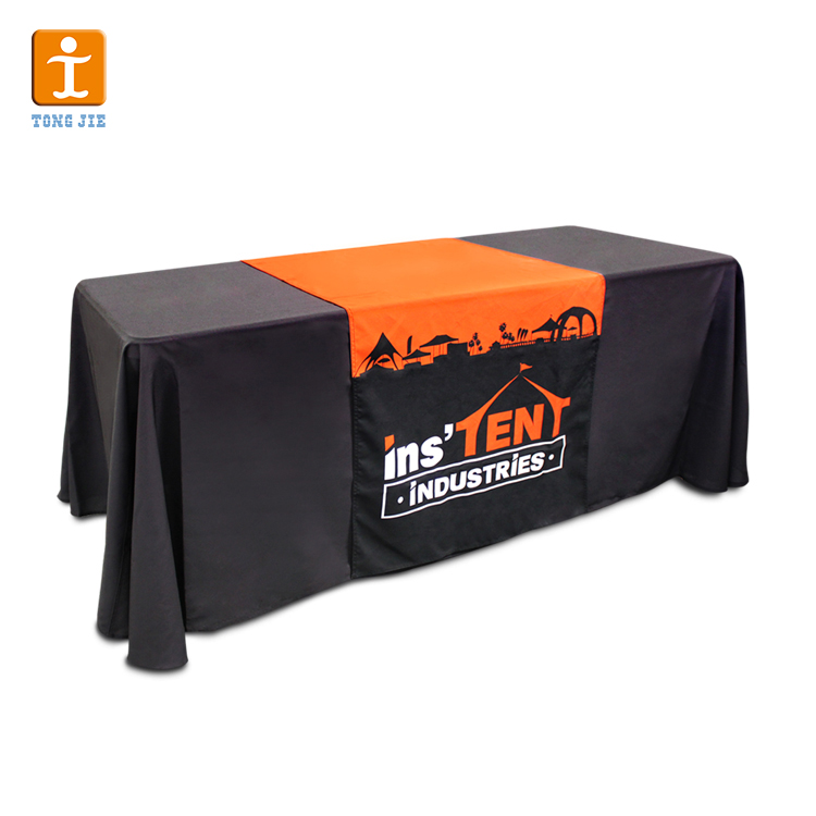 fitted table cloth,1 Piece, Accept any designs logos and ay color