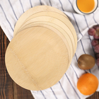 Wholesale Disposable Plates Bamboo Plates Disposable Plates Wholesale Eco-friendly Bamboo Biodegradable Disposable Plates