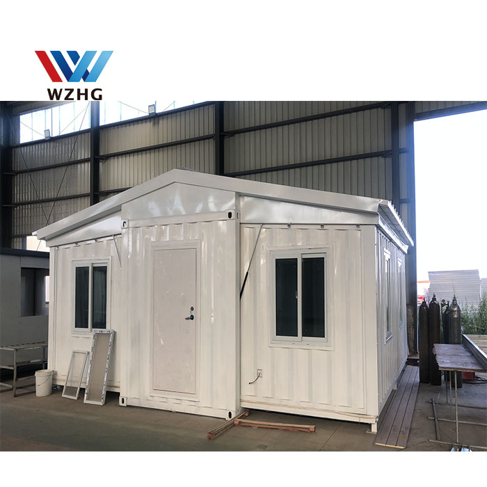 Casas prefabricadas Modular expandable prefabhouses Export Prefab And Containers Office ,Flat Plat pack container
