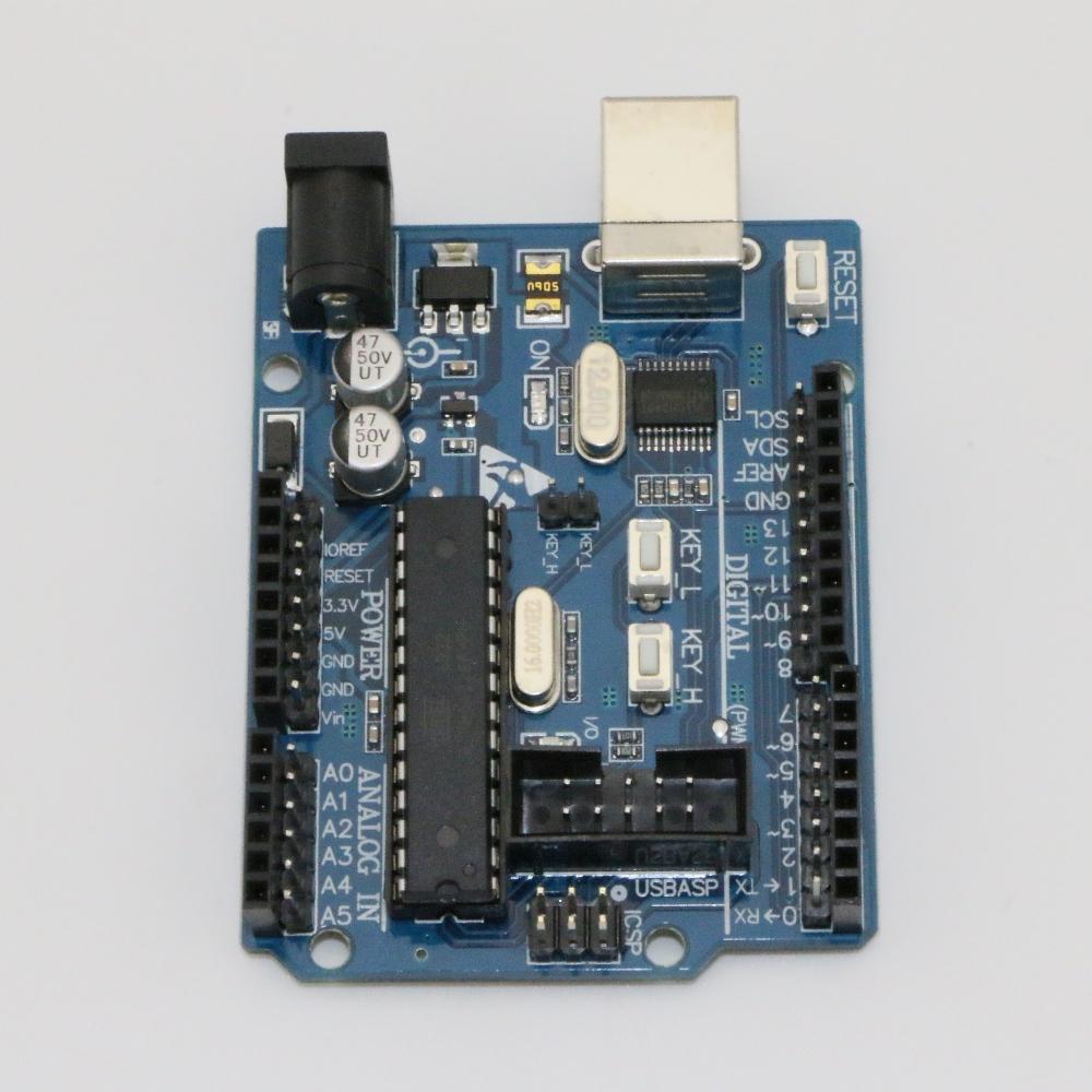microcontroller programming Uno R3 development board
