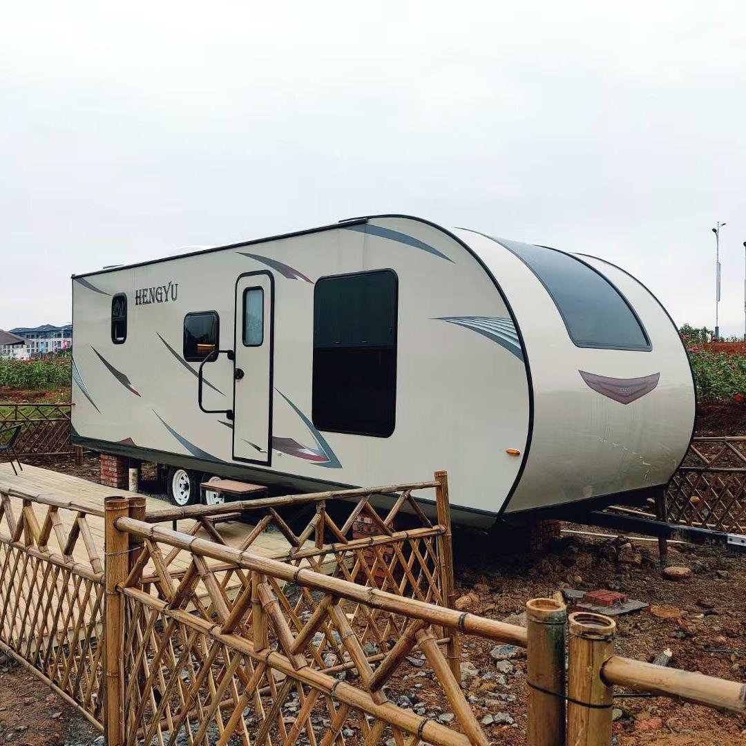 Custom Offroad Camper Rimorchio Rv Campo Rimorchio 4x4 Camper Caravan Camper