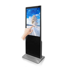 China advertising equipment manufacturer 43 inch floor stand indoor digital advertising board lcd display