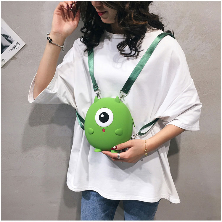 product-mochilas New Backpacks Women Travel Backpack Cute Cartoon Shoulder Bags Girls Waterproof Sil-1